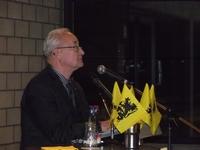Afdelingsvoorzitter Karel Vlassak